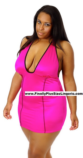Plus size clubwear lingerie cheerleader