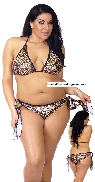 Get all geared up for Spring! Try our Hot new Brazilian Plus Size Bikinis !