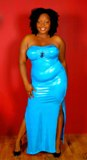 Plus Size Tube Gowns